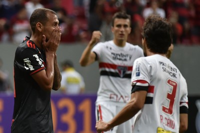 Alan Patrick Flamengo x São Paulo (Foto: Agência Estado)