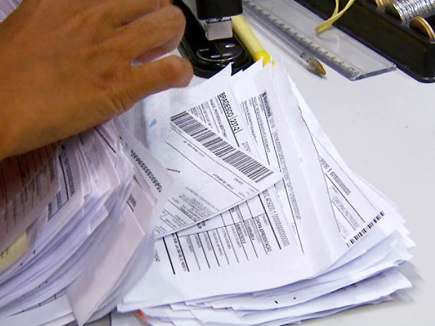 Greve de funcionários dos Correios, em Campinas, compromete pagamentos de contas (Foto: Reprodução / EPTV)