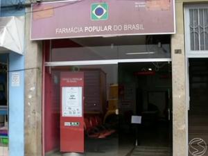 Farmácia popular, em Angra dos Reis (Foto: Reprodução/TV Rio Sul)