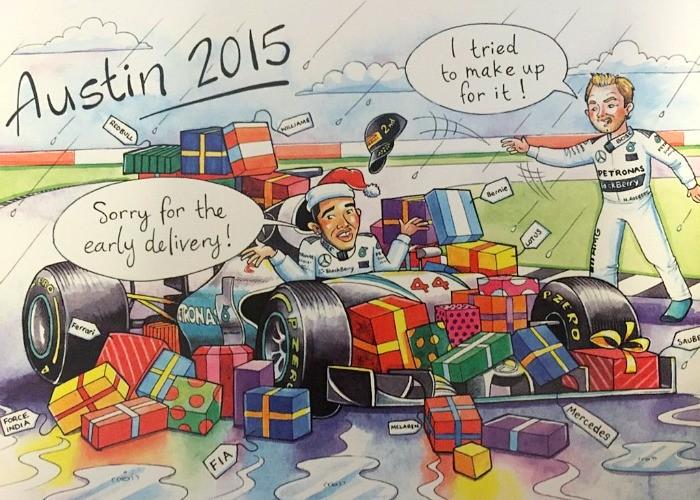 BLOG: O cartão de Natal de Bernie Ecclestone