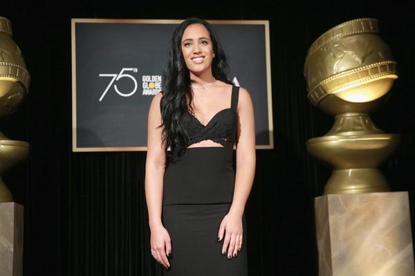 Simone Johnson recebe o título de Embaixadora do Globo de Ouro (Foto: Getty Images)