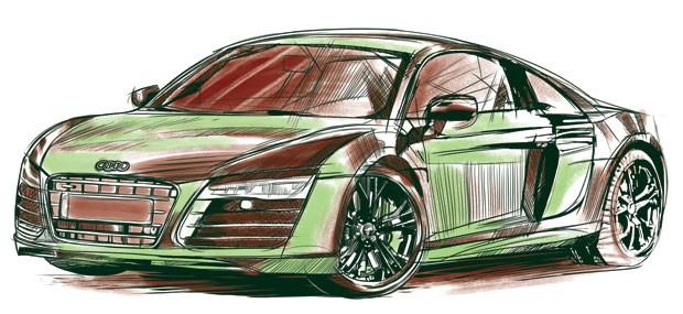 Audi R8 V10 (Foto: GQ)