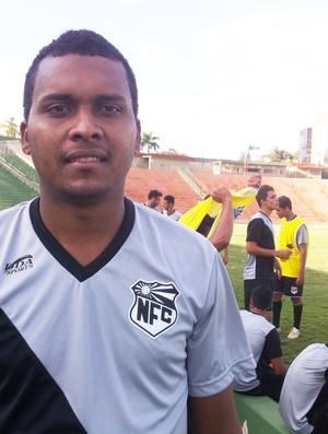 Jonatan, atacante do Nacional de Uberaba (Foto: Mariana do Espirito Santo/G1)