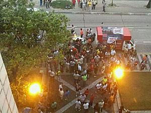 Julgamento do dissídio dos motoristas e cobradores, no Recife (Foto: Luna Markman / G1)