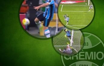 Letra de Douglas, gol à la Van Basten e tiro livre marcam vitória do Grêmio