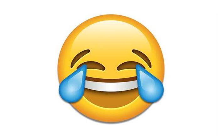 Emoji que representa risos incontroláveis foi escolhido como a palavra do ano (Foto: Reprodução)