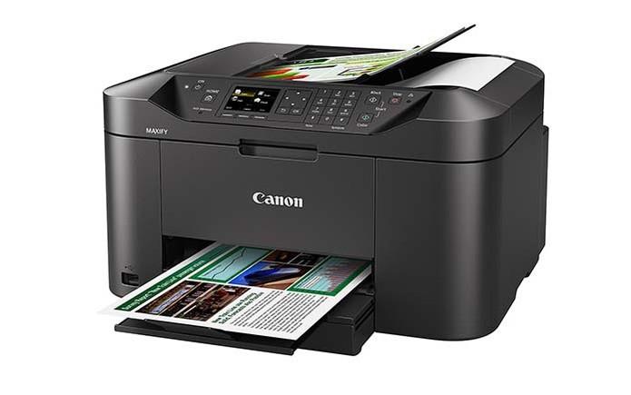 Multifuncional da Canon permite se conectar por USB e Wi-Fi (Foto: Divulgação/Canon)