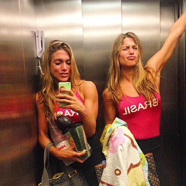 Bia e Branca Feres (Foto: Instagram)