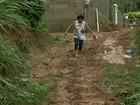 Casas desabam e 80 pessoas ficam desalojadas no Centro Sul do RJ