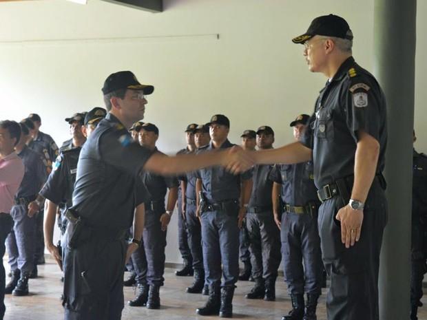 Troca de comando da PM em Itaperuna (Foto: Divulgação/PM)
