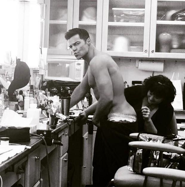 Ricky Martin (Foto: Reprodução/Instagram)
