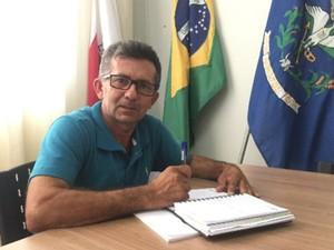 Antônio José Almeida, presidente da Câmara de Araújos (Foto: Hudson Bruno Lemos/Assessoria)