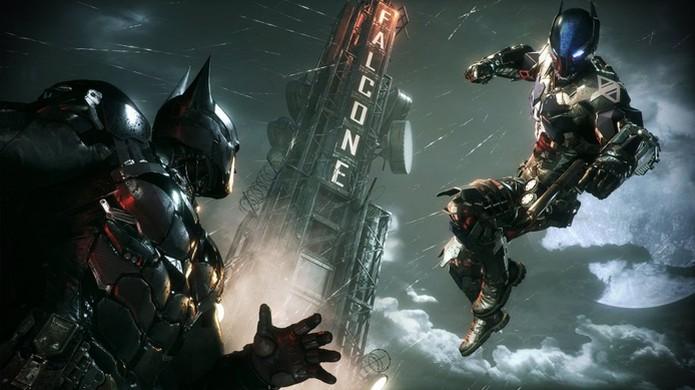 Batman: Arkham Knight traz a grande luta de Batman contra um inimigo inédito para a nova geração (Foto: Reprodução/PC Gamer) (Foto: Batman: Arkham Knight traz a grande luta de Batman contra um inimigo inédito para a nova geração (Foto: Reprodução/PC Gamer))