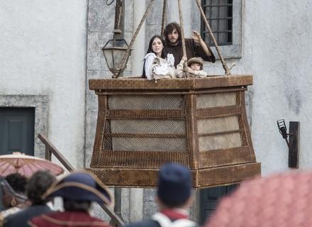 Anna e Joaquim fogem em balão