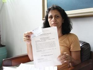Mãe de dependente químico de Mogi das Cruzes já tem o laudo que atesta o vício de seu filho (Foto: Gustavo Rejani)
