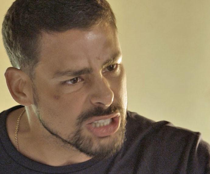 Juliano descobre verdade sobre Zé Maria (Foto: TV Globo)