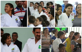 Sem medalha no Rio, Sarah Menezes inaugura CT de R$ 1 milhão no Piauí