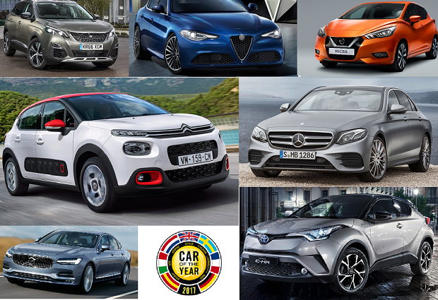 Candidatos ao European Car of The Year (Foto: Divulgação)