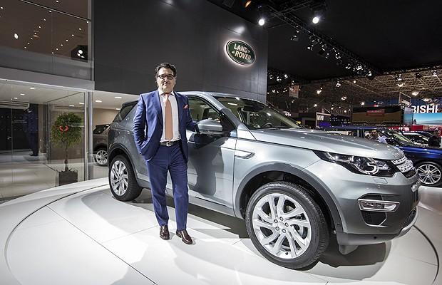 Massimo Frascella, designer do Land Rover Discovery Sport (Foto: Divulgação)