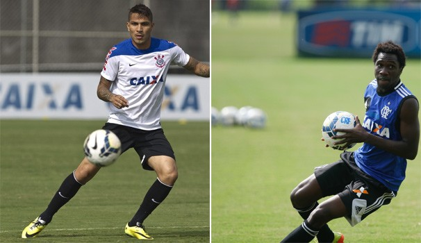 Futebol Corinthians e Flamengo  (Foto:  Daniel Augusto Jr Agência Corinthians / Gilvan de Souza Flaimagem)