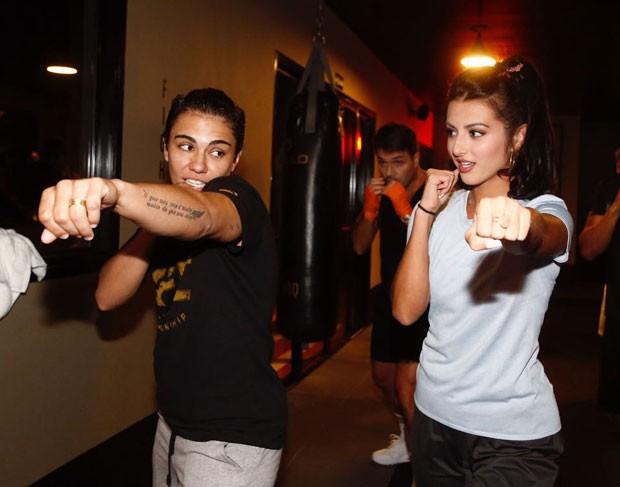 Jéssica Andrade e Anajú Dorigon (Foto: Thiago Bernardes/ QUEM)