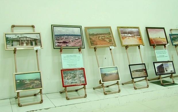 Exposição fotográfica conta a história de Ariquemes (Foto: Bom Dia Amazônia)