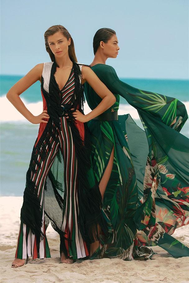 Grazi Massafera e Helly Oliveira em campanha de moda verão 2018 (Foto: Divulgação/Eduardo Resende)