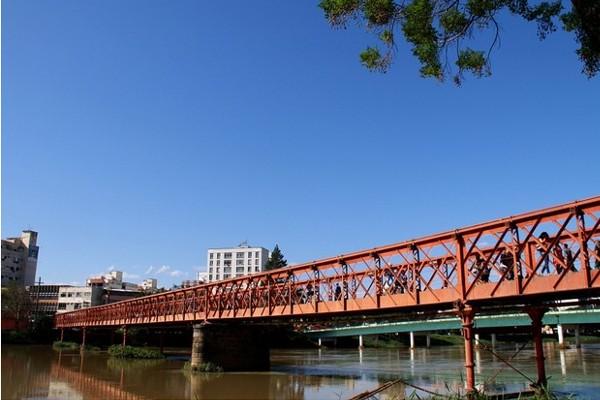 Ponte Nilo Peçanha, a Ponte Velha, comemora 110 anos nesta quinta-feira (16) (Foto: André Sodré/ Divulgação)