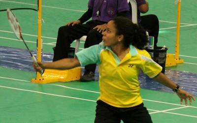 Fabiana Silva badminton (Foto: Reprodução/Facebook)