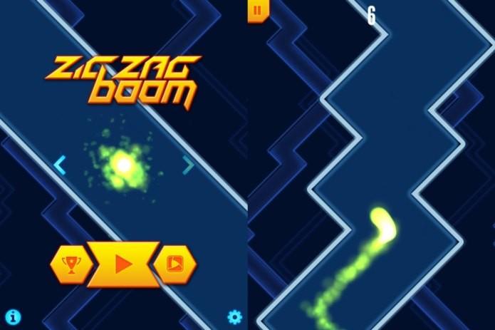 ZigZag Boom é um excelente game para jogar em qualquer lugar e desafiar os amigos (Foto: Divulgação)