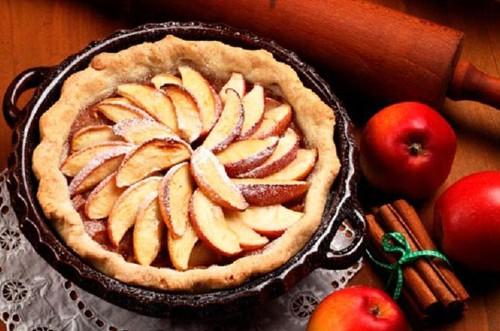 Torta rápida de maçã