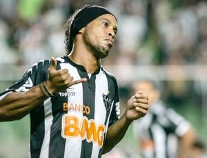 Ronaldinho Gaucho Atlético-MG (Foto: Bruno Cantini)