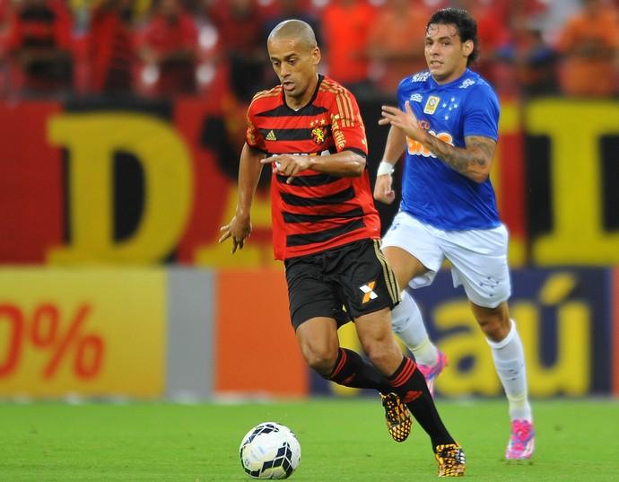 Sport x Cruzeiro (Foto: Aldo Carneiro / Pernambuco Press)