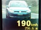 Motorista é flagrado a 190 km/h em rodovia federal de Goiás; veja (Divulgação/PRF)