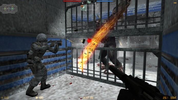 Durante as partidas há muito dinheiro virtual para comprar munição (Foto: Divulgação)