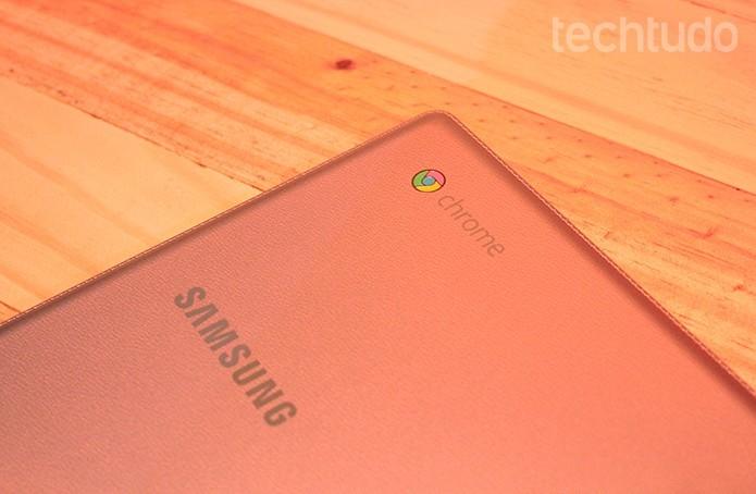 XE500C12, modelo da linha Connect de Chromebook 2 da Samsung (Foto: Leonardo Ávila/Techtudo) (Foto: XE500C12, modelo da linha Connect de Chromebook 2 da Samsung (Foto: Leonardo Ávila/Techtudo))