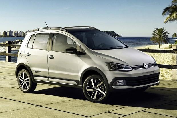 Novo Volkswagen CrossFox Urban White (Foto: Divulgação)