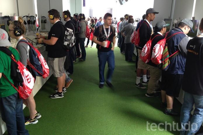 O TechTudo testou Fifa 17 na E3 2016 (Foto: Felipe Vinha/TechTudo)