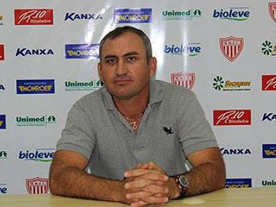 Geraldo Meira Treinador Mogi Mirim Sapo (Foto: Geraldo Bertanha / Mogi Mirim EC)