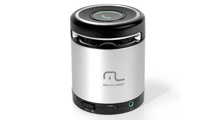 Caixa de som da Multilaser vem com Bluetooth e entrada de cartão SD (Foto: Divulgação/Multilaser) (Foto: Caixa de som da Multilaser vem com Bluetooth e entrada de cartão SD (Foto: Divulgação/Multilaser))