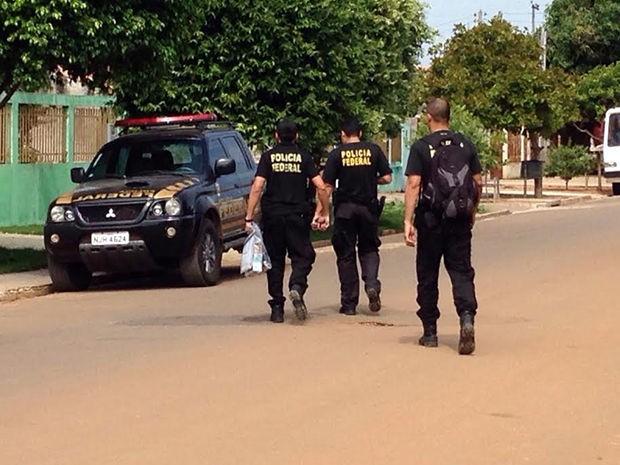 Polícia Federal deflagrou a Operação 'Veraneio' em MT, MG, SP e AM. (Foto: João Carlos Morandi/TVCA)