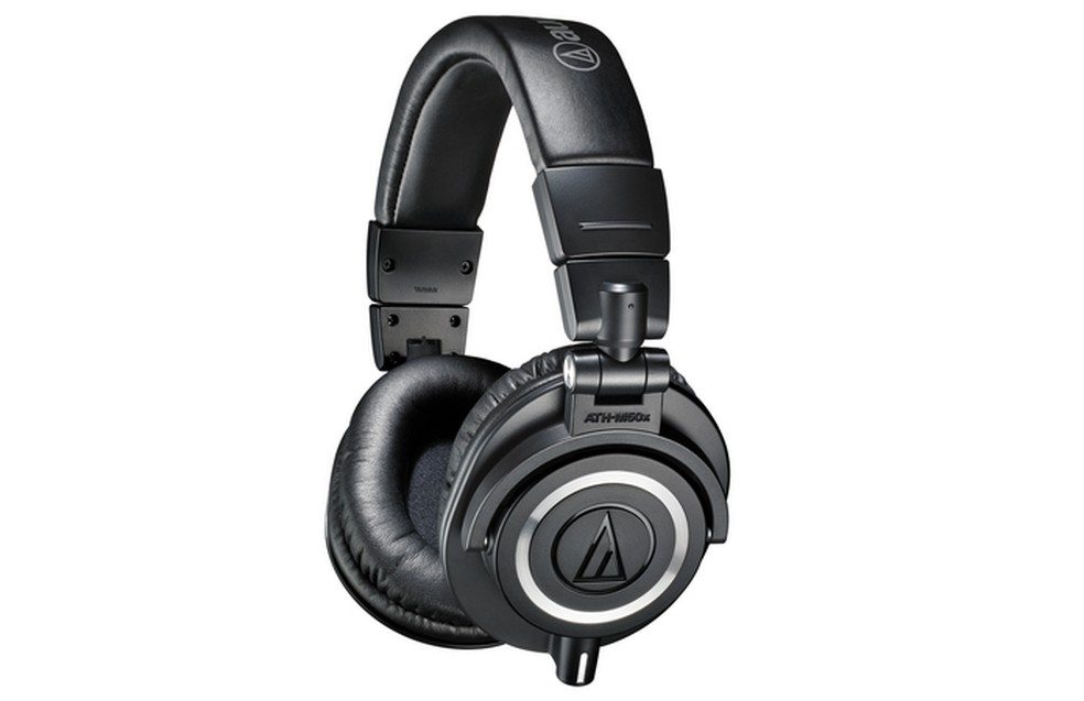 Fone de ouvido para graves Audio-Technica ATH-M50x  (Foto: Divulgação/Audio-Technica)