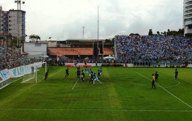 Paysandu estreou no Parazão (Foto: GLOBOESPORTE.COM/PA)