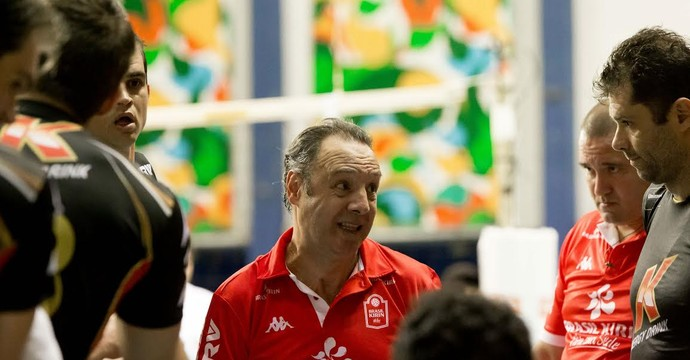 Horacio Dileo técnico Campinas vôlei (Foto: Divulgação / Brasil Kirin)