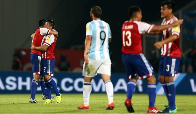 Argentina x Paraguai (Foto: Reuters)