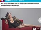 Candidatas ao Miss Bumbum Melhor Idade viram notícia no exterior