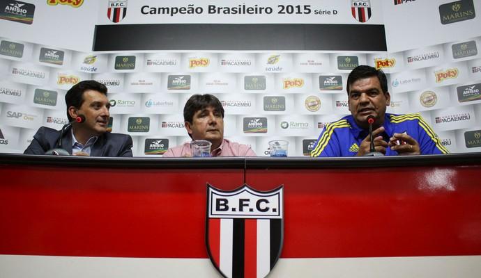 moacir junior, técnico do botafogo-sp (Foto: Rogério Moroti/Ag. Botafogo)