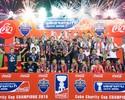 Do amendoim ao elefante: Diogo faz gol do título e leva susto na Tailândia