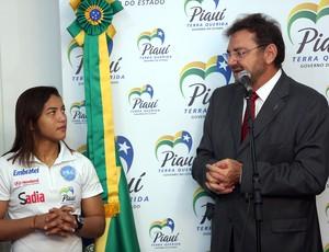 Sarah Menezes (Foto: Thiago Amaral/CCOM)