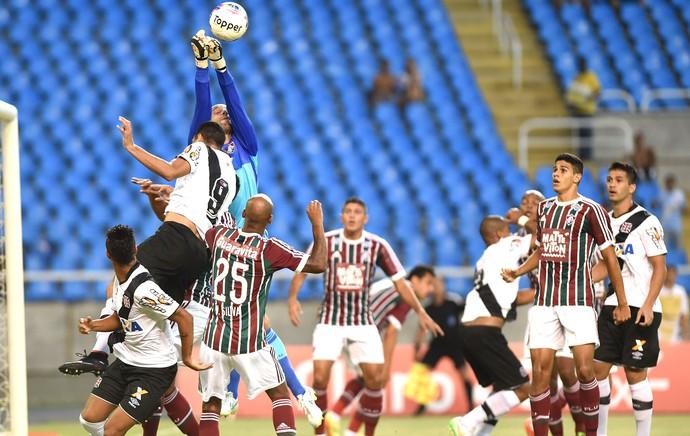 Diego Cavalieri Fluminense X Vasco - Engenhão (Foto: Andre Durão)